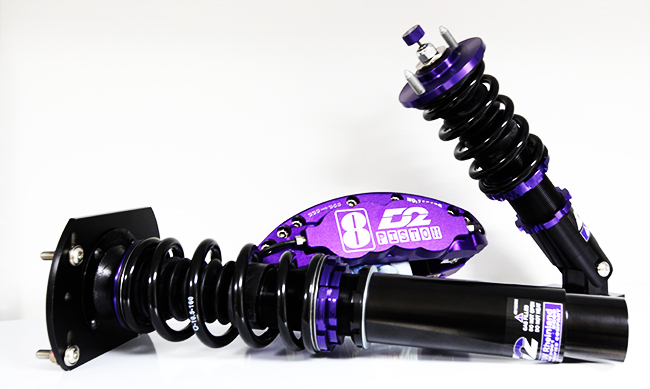 d2 racing suspension coilover breaks